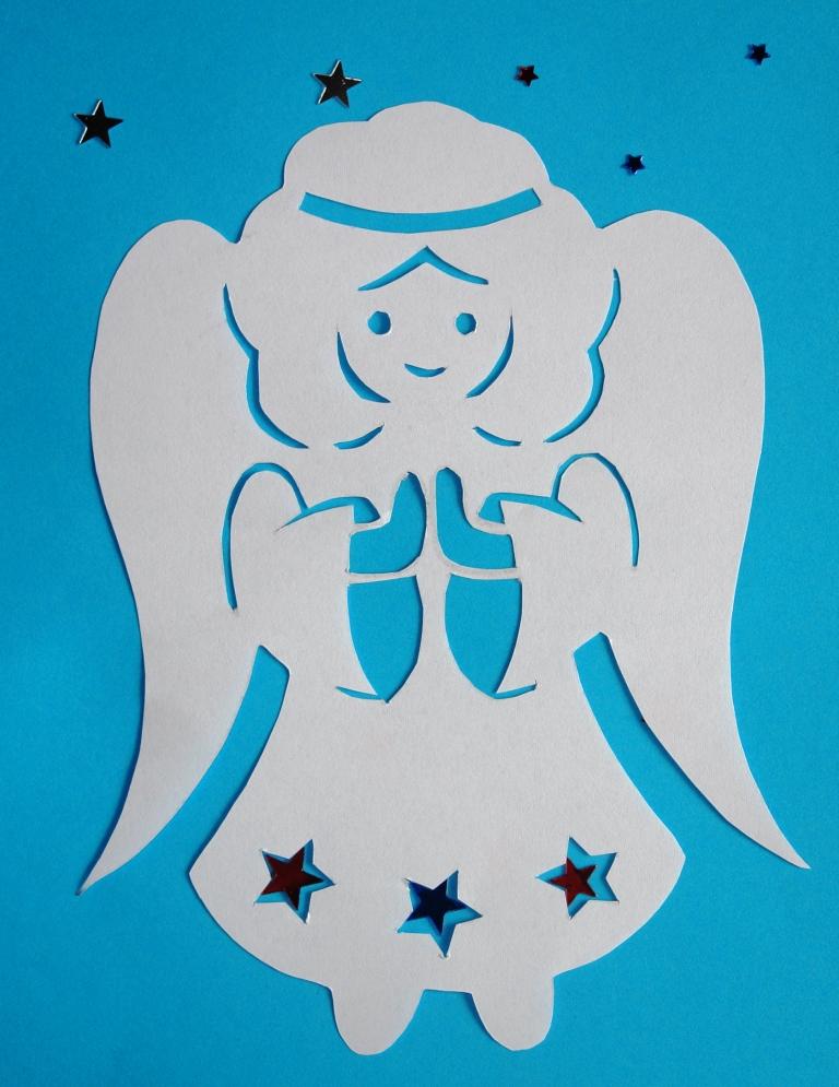 Ангелочек своими руками из бумаги фото