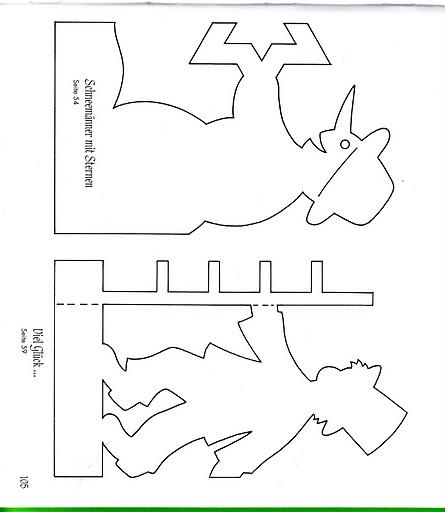 Симметричное вырезание из бумаги для начинающих.