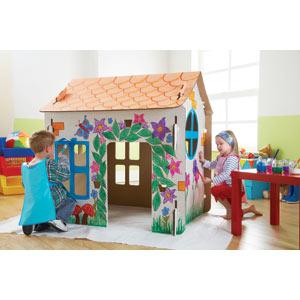 Игрушечный домик для дочки - Творим вместе с детьми (Crafting with Kids)