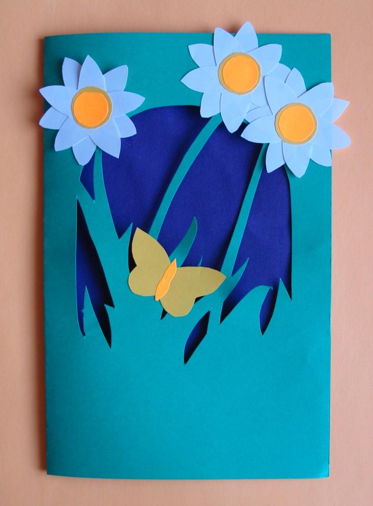 такое открытки с 8 мартом поделки с детьми могут заказывать печать