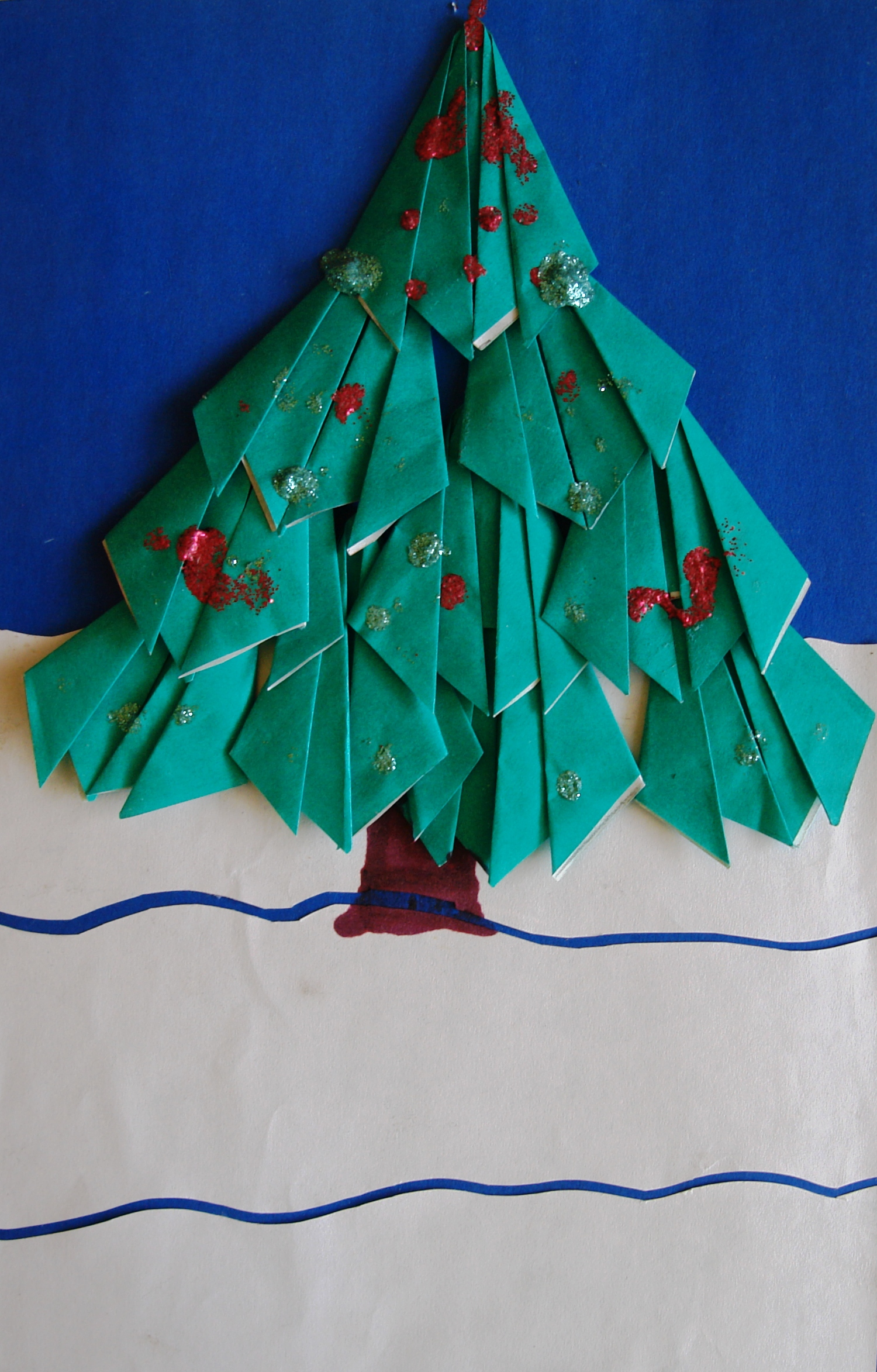 Урок труда во 2 классе оригами