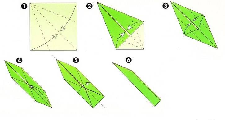 Ромашки оригами из бумаги своими руками схемы поэтапно