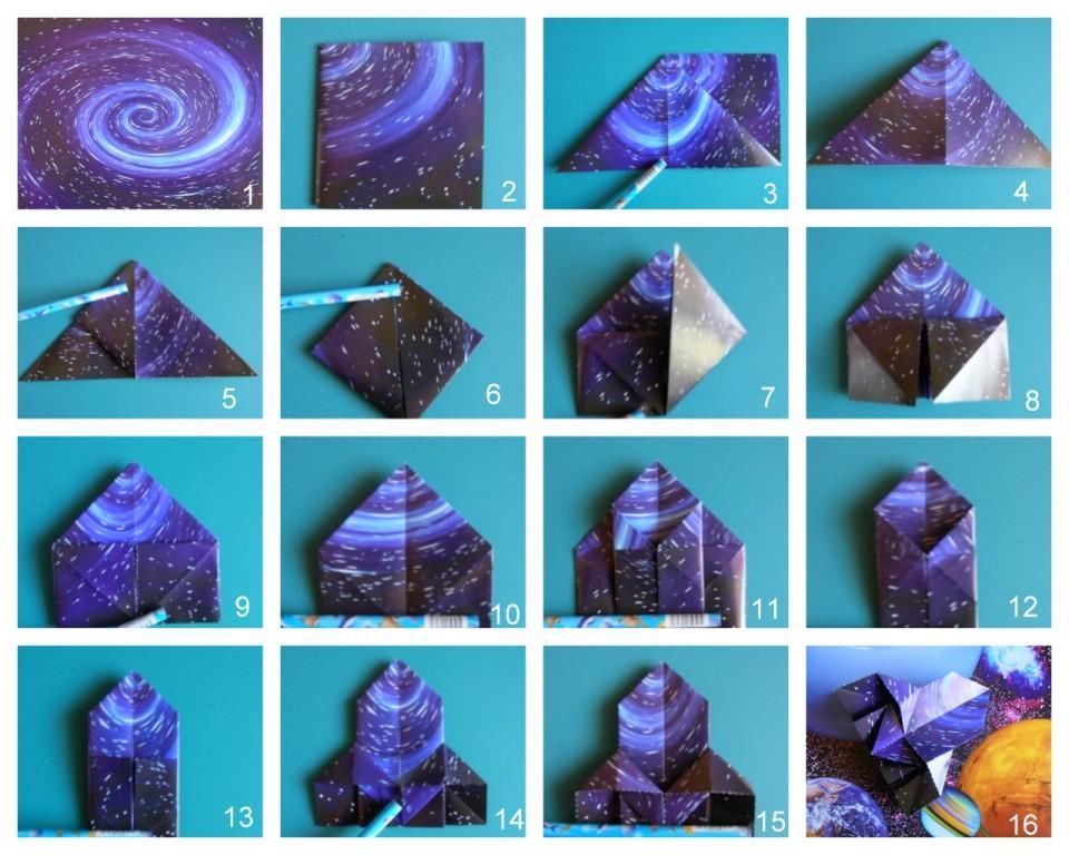 Ракета оригами схема - портал с схемами.  На нашем портале.