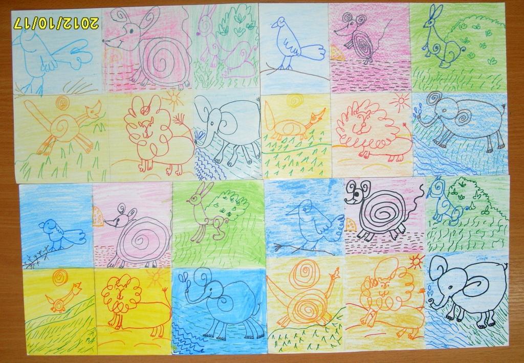 Рисунки на урок рисования во 2 классе