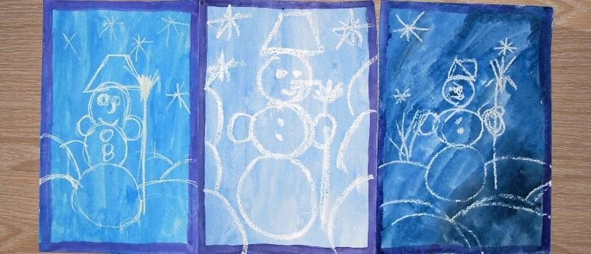 Как рисовать свечой с детьми