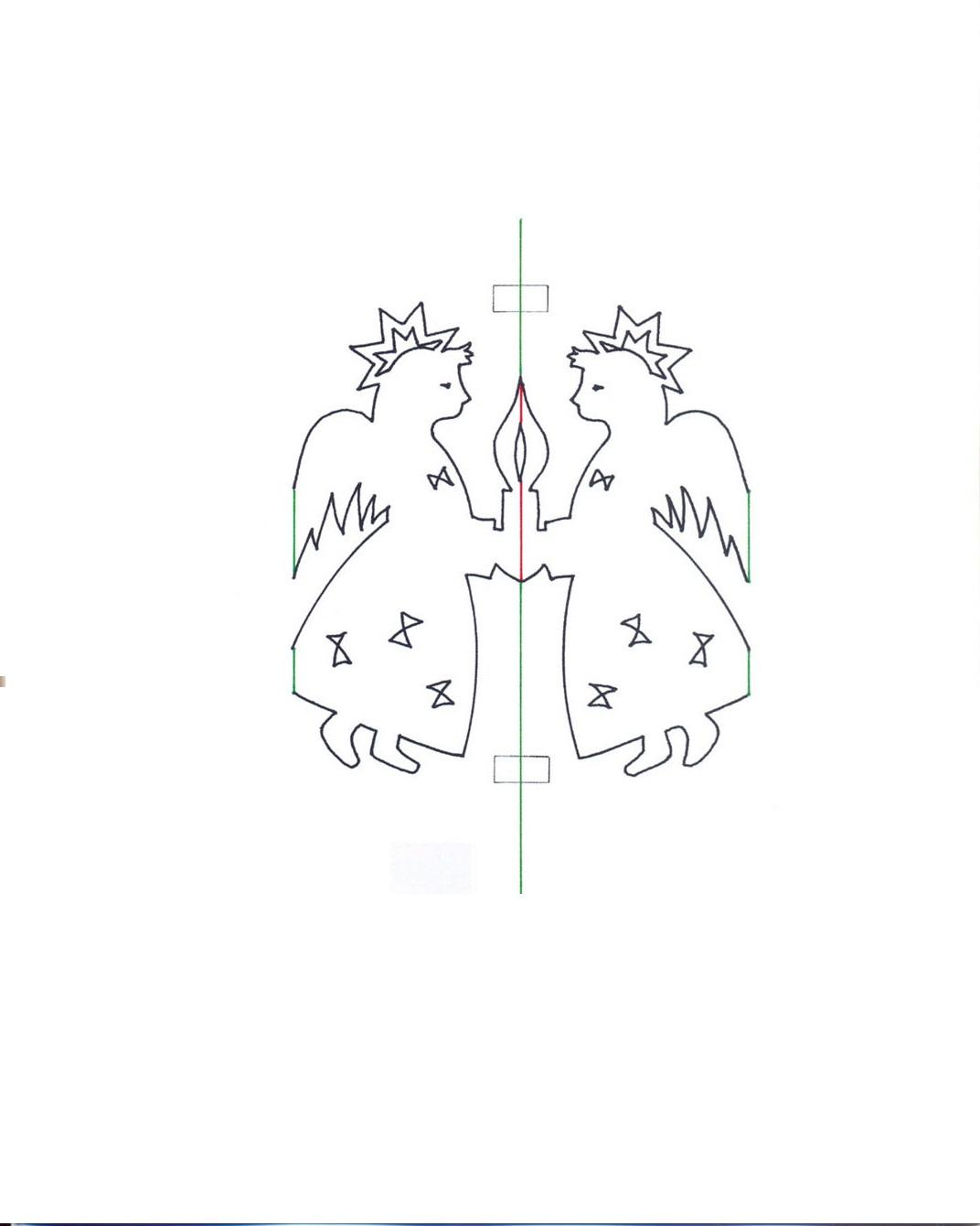 Открытки киригами для начинающих схемы и шаблоны 20