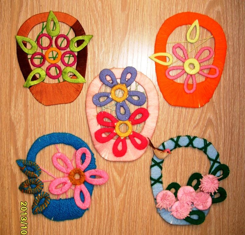 Картинки корзина цветов 2 класс из ниток, годиком девочке арине