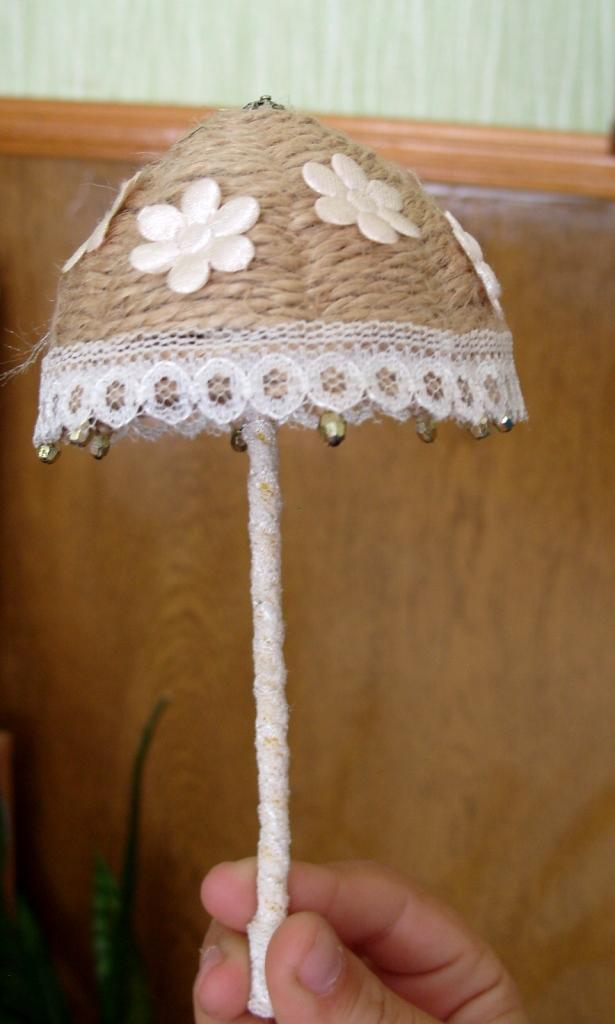 Зонтики своими руками