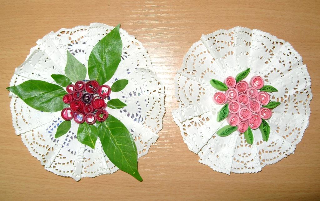 Поделка на день матери из оригами